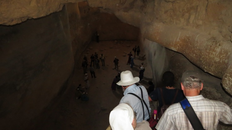Herod's water cistern. (1.4 Million Cubit Feet)