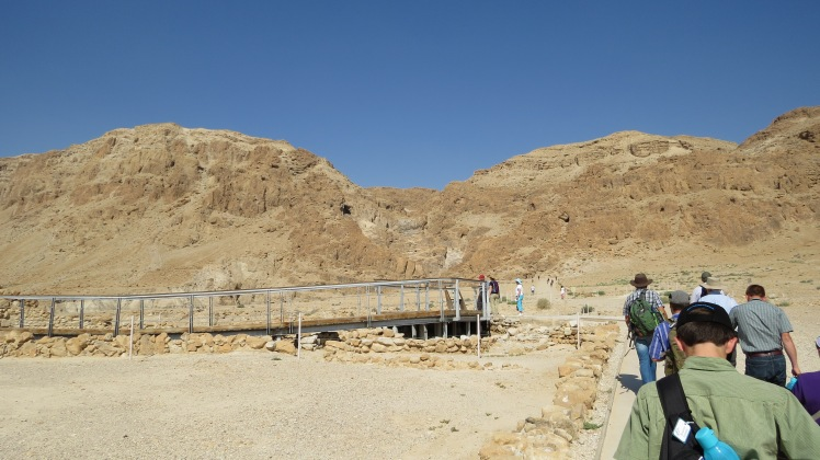 900+ Scrolls were found in these hills, hidden by the Essenes.