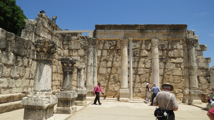 The ancient synagogue where Jesus more than likely stood.