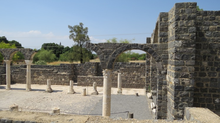 A basilica from the Byzantine time period. Also in the area of the Decapolis.
