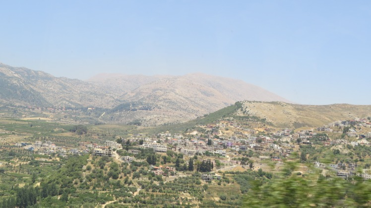 Mt. Hermon. No snow capped peak this time of year.
