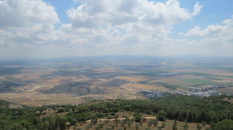 This is what Elijah would have seen upon Mount Carmel, minus all the green area. Do we display the power that Elijah showed to the people of the world? Do we have the guts to ask for a double portion like Elisha did?