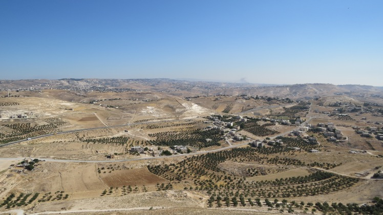 The view from the Herodian fortress in Bethlehem. Another masterpiece of Herod the Great. Yet it all lies in ruins. What will the world say about our life after we lay silent in the grave? From the most famous man to the poorest wretch on earth, all will die.
