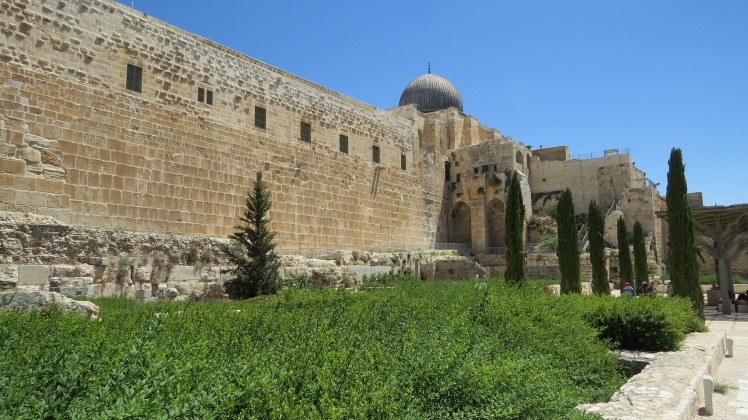 The southern wall of the Temple Mount.