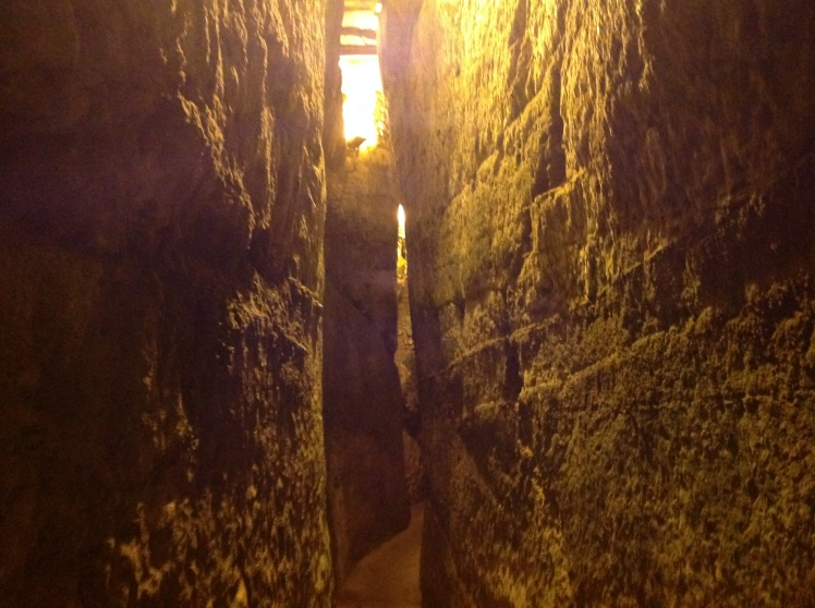 We walked the tunnels last night, the work of man's hand is just amazing, o that our hearts would be so unified in the spiritual world.