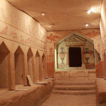 Maresha Sidonian burial temple