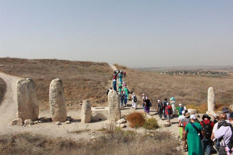 Standing Stones - Gezer